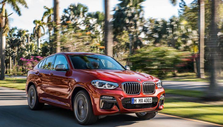 BMW X4 2018, il SUV Coupé di Monaco arriva alla seconda serie - Foto 1 di 56