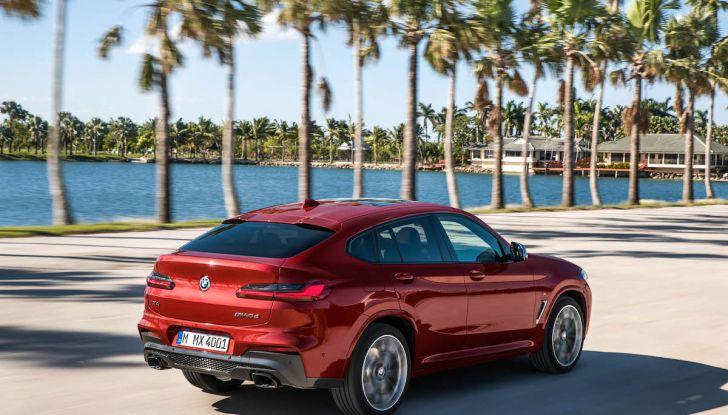 BMW X4 2018, il SUV Coupé di Monaco arriva alla seconda serie - Foto 10 di 56