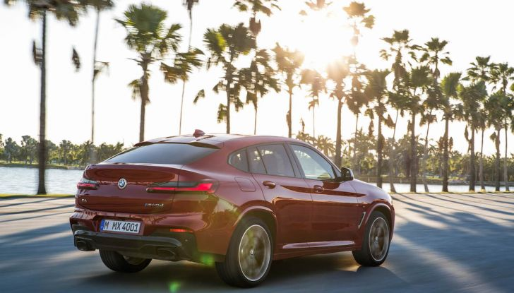 BMW X4 2018, il SUV Coupé di Monaco arriva alla seconda serie - Foto 12 di 56