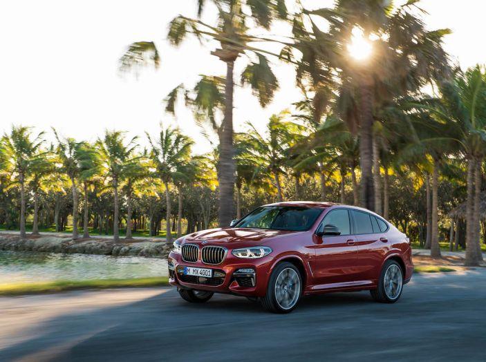 BMW X4 2018, il SUV Coupé di Monaco arriva alla seconda serie - Foto 13 di 56