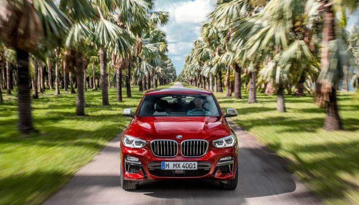BMW X4 2018, il SUV Coupé di Monaco arriva alla seconda serie - Foto 14 di 56