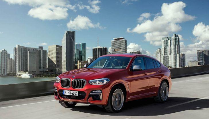 BMW X4 2018, il SUV Coupé di Monaco arriva alla seconda serie - Foto 16 di 56