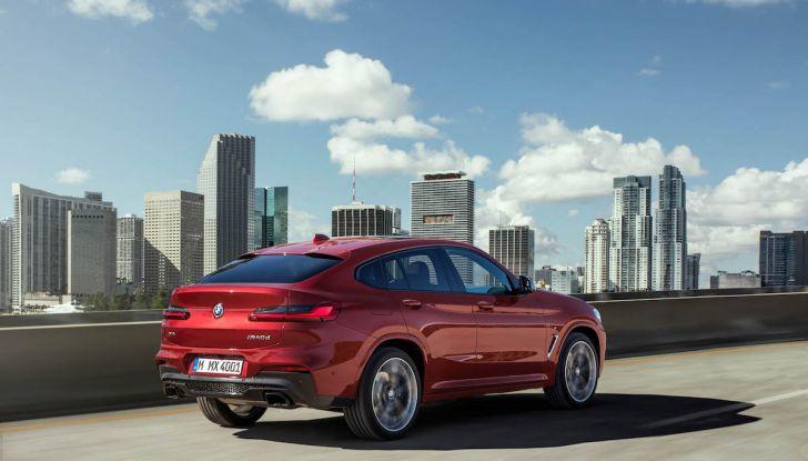 BMW X4 2018, il SUV Coupé di Monaco arriva alla seconda serie - Foto 17 di 56