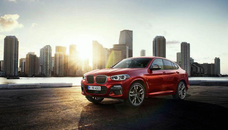 BMW X4 2018, il SUV Coupé di Monaco arriva alla seconda serie - Foto 18 di 56