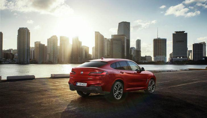 BMW X4 2018, il SUV Coupé di Monaco arriva alla seconda serie - Foto 19 di 56