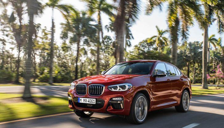 BMW X4 2018, il SUV Coupé di Monaco arriva alla seconda serie - Foto 2 di 56