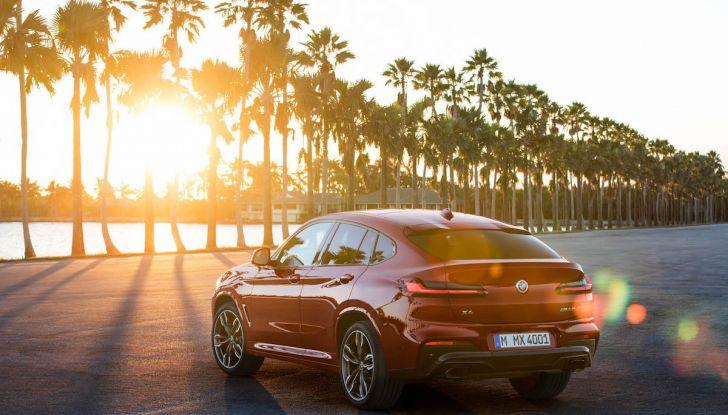 BMW X4 2018, il SUV Coupé di Monaco arriva alla seconda serie - Foto 20 di 56