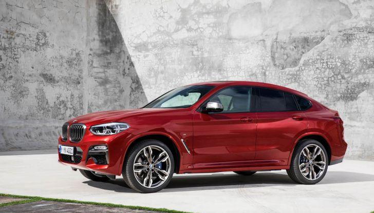 BMW X4 2018, il SUV Coupé di Monaco arriva alla seconda serie - Foto 21 di 56