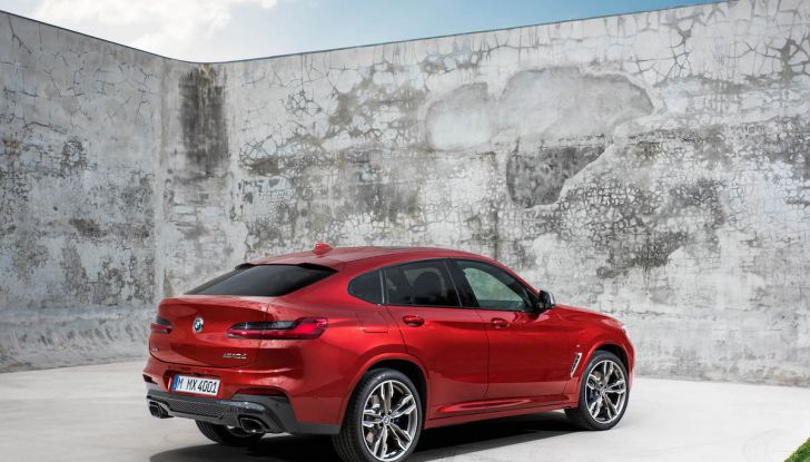 BMW X4 2018, il SUV Coupé di Monaco arriva alla seconda serie - Foto 23 di 56
