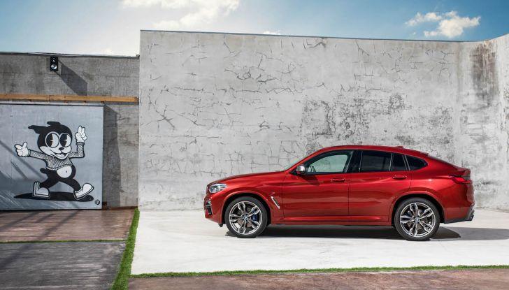 BMW X4 2018, il SUV Coupé di Monaco arriva alla seconda serie - Foto 24 di 56