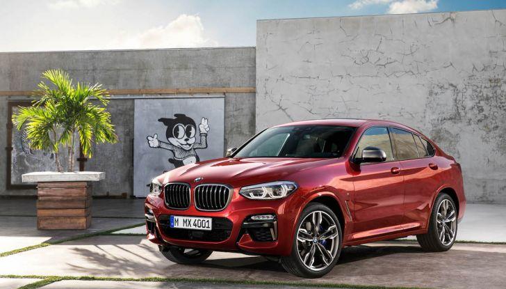 BMW X4 2018, il SUV Coupé di Monaco arriva alla seconda serie - Foto 25 di 56