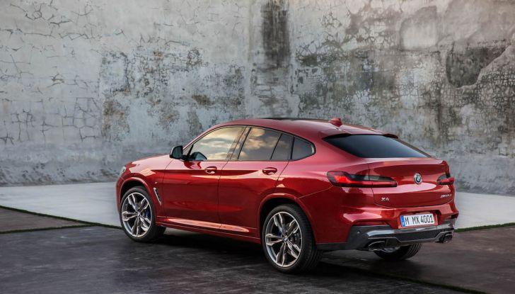 BMW X4 2018, il SUV Coupé di Monaco arriva alla seconda serie - Foto 26 di 56