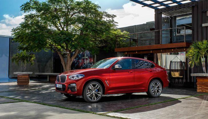 BMW X4 2018, il SUV Coupé di Monaco arriva alla seconda serie - Foto 28 di 56