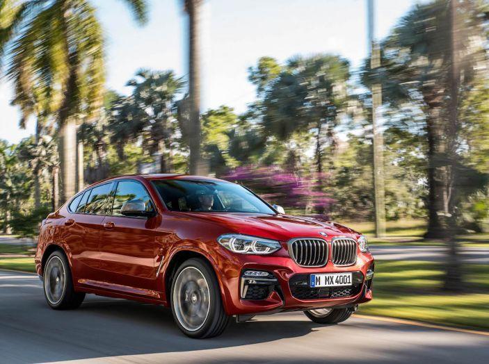 BMW X4 2018, il SUV Coupé di Monaco arriva alla seconda serie - Foto 3 di 56