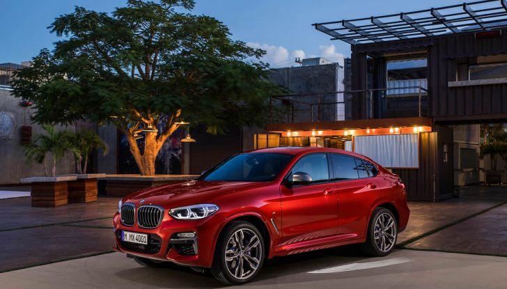 BMW X4 2018, il SUV Coupé di Monaco arriva alla seconda serie - Foto 30 di 56