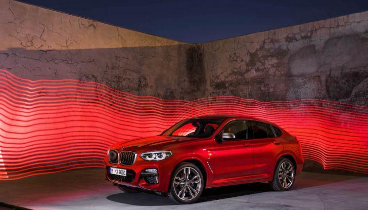 BMW X4 2018, il SUV Coupé di Monaco arriva alla seconda serie - Foto 32 di 56