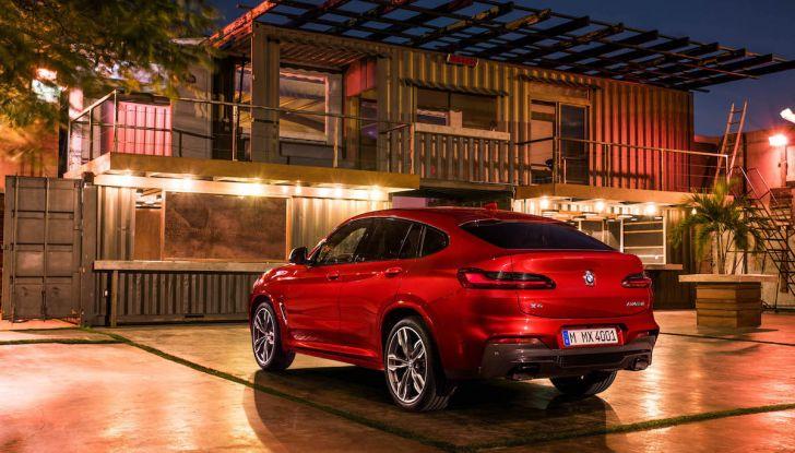 BMW X4 2018, il SUV Coupé di Monaco arriva alla seconda serie - Foto 33 di 56