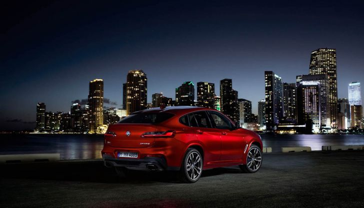 BMW X4 2018, il SUV Coupé di Monaco arriva alla seconda serie - Foto 34 di 56