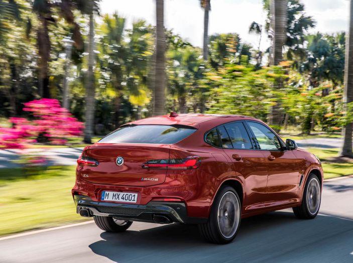BMW X4 2018, il SUV Coupé di Monaco arriva alla seconda serie - Foto 4 di 56