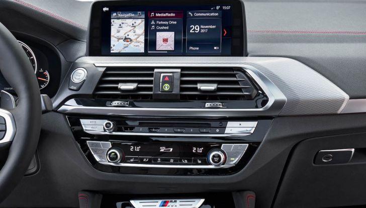 BMW X4 2018, il SUV Coupé di Monaco arriva alla seconda serie - Foto 40 di 56