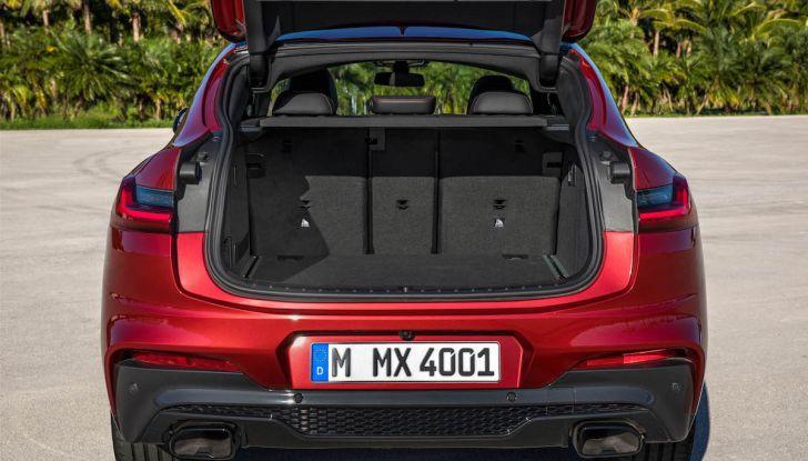 BMW X4 2018, il SUV Coupé di Monaco arriva alla seconda serie - Foto 47 di 56