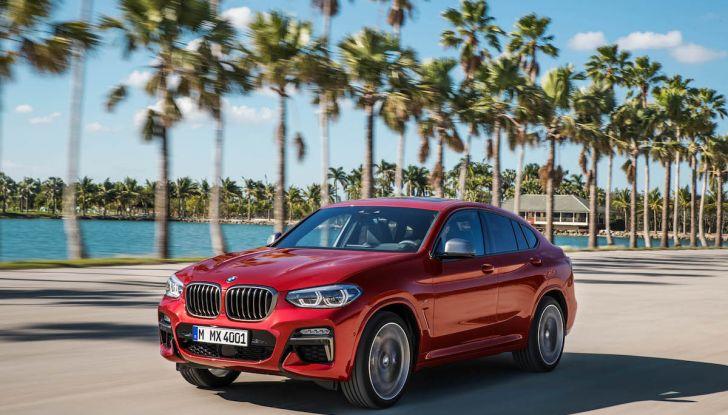 BMW X4 2018, il SUV Coupé di Monaco arriva alla seconda serie - Foto 6 di 56