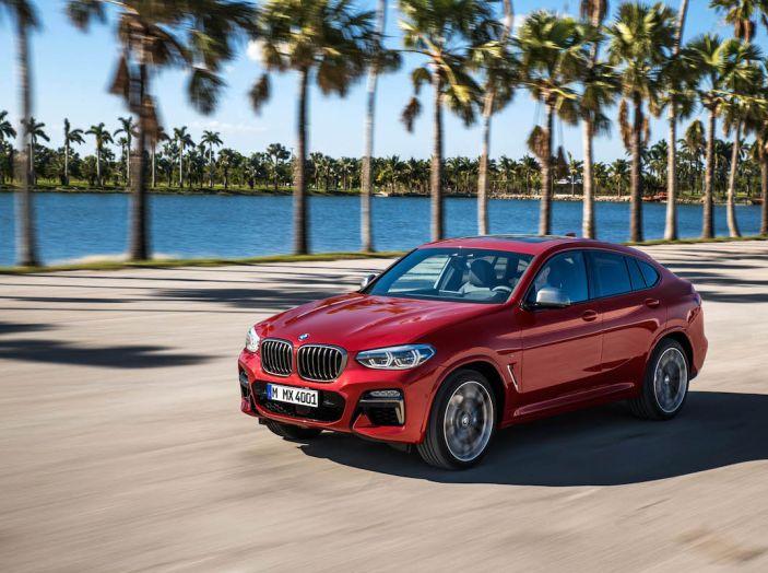 BMW X4 2018, il SUV Coupé di Monaco arriva alla seconda serie - Foto 7 di 56