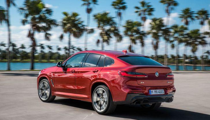 BMW X4 2018, il SUV Coupé di Monaco arriva alla seconda serie - Foto 9 di 56