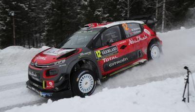WRC Svezia 2018: Citroën sul podio con il secondo posto di Craig Breen e Scott Martin