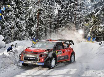 WRC Svezia 2018 – Shakedown: i piloti Citroën trovano il ritmo giusto