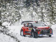 WRC Svezia 2018 – Giornata di venerdi: due gli equipaggi Citroën nella Top 5.