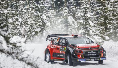WRC Svezia 2018 - Giornata di venerdi: due gli equipaggi Citroën nella Top 5.