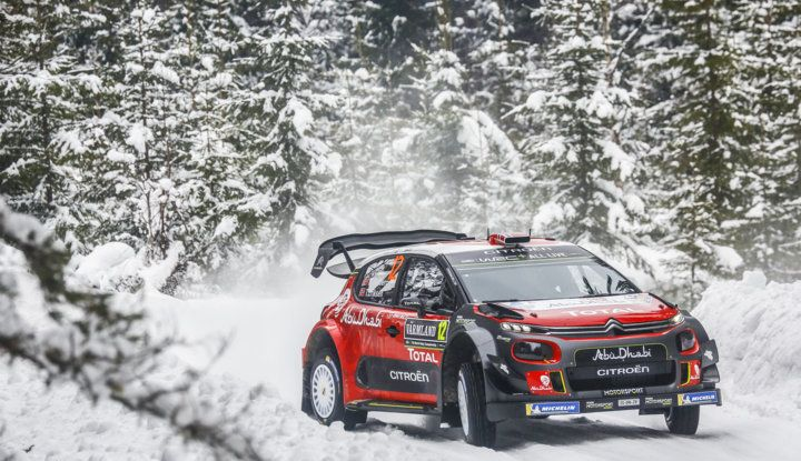 WRC Svezia 2018 – Giornata di venerdi: due gli equipaggi Citroën nella Top 5. - Foto 1 di 3