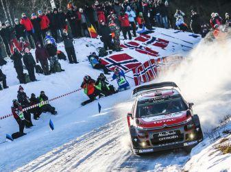 WRC Svezia 2018: la presentazione del Rally con il team Citroën
