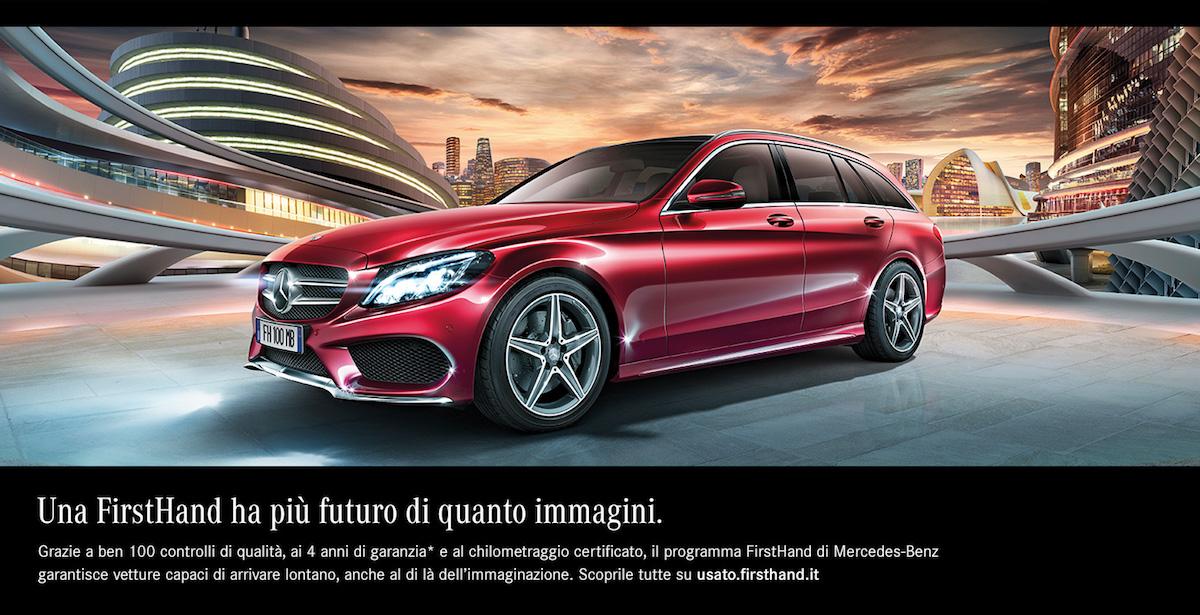Mercedes Benz First Hand