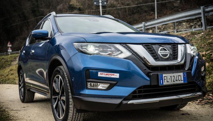 [VIDEO] Prova su strada Nissan X-Trail 2017 – il SUV 7 posti con 4x4i - Foto 13 di 42