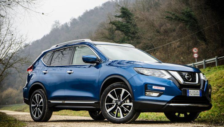 Nissan X-Trail: una versione tutta nuova in arrivo nel 2020 - Foto 14 di 42
