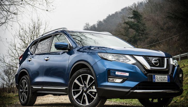 [VIDEO] Prova su strada Nissan X-Trail 2017 – il SUV 7 posti con 4x4i - Foto 3 di 42