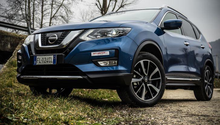 Prova su strada Nissan X-Trail 2017 – il SUV 7 posti con 4x4i