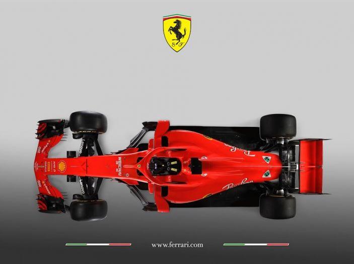 Ferrari SF71H F1 2018, presentata la nuova monoposto della Scuderia - Foto 3 di 5