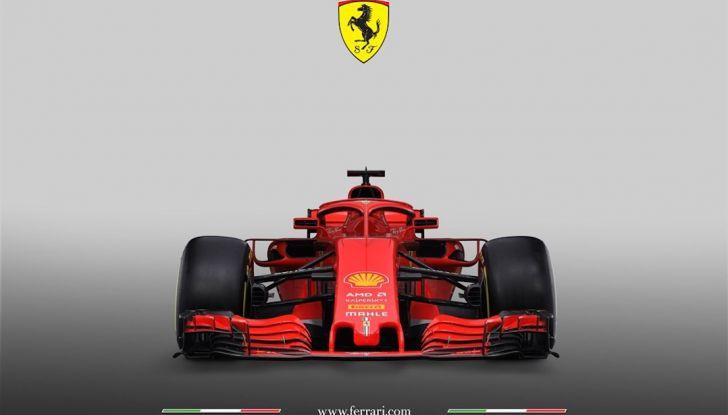Ferrari SF71H F1 2018, presentata la nuova monoposto della Scuderia - Foto 4 di 5
