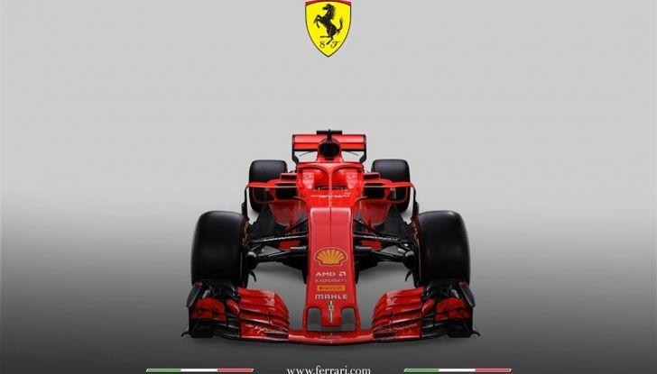 Ferrari SF71H F1 2018, presentata la nuova monoposto della Scuderia - Foto 5 di 5
