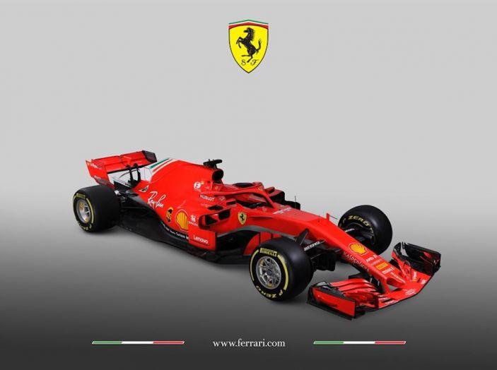 Ferrari SF71H F1 2018, presentata la nuova monoposto della Scuderia - Foto 1 di 5