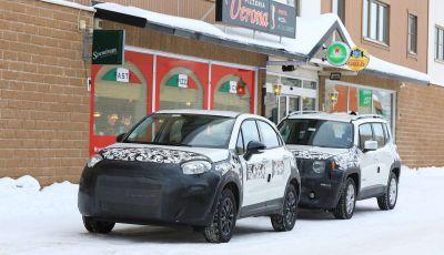 Fiat 500X Facelift 2019 prime prove su strada