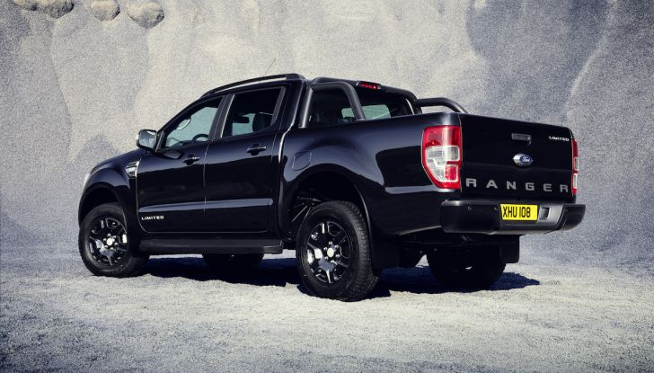 Ford Ranger Black Edition: il pickup dell'Ovale è Back in Black - Foto 6 di 6