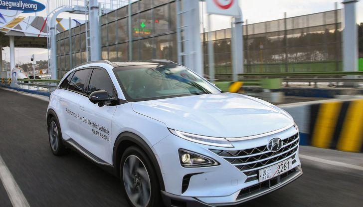 Hyundai Nexo: auto a idrogeno Fuel Cell e a guida autonoma di livello 4 - Foto 1 di 4