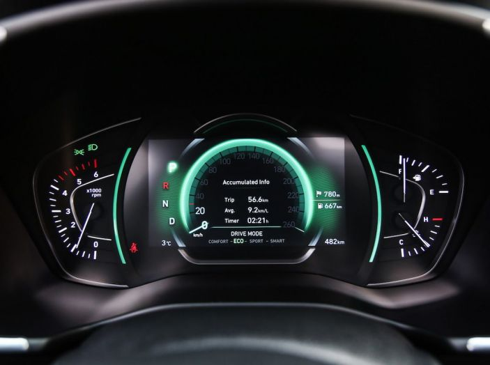 Hyundai Santa Fe 2018, dimensioni e motori del SUV coreano - Foto 15 di 74
