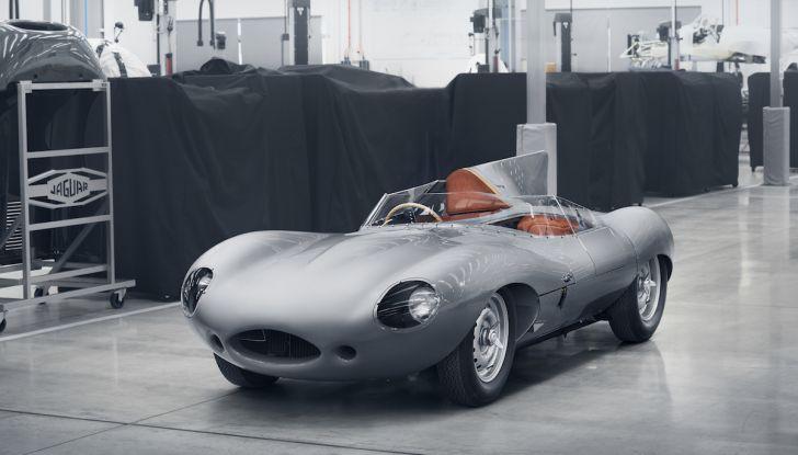Jaguar D-Type, regina di Le Mans, torna in produzione nel 2018 - Foto 7 di 15