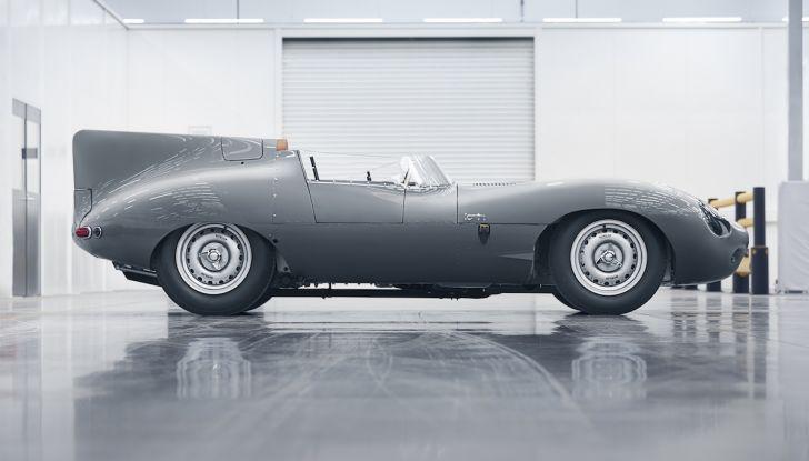 Jaguar D-Type, regina di Le Mans, torna in produzione nel 2018 - Foto 12 di 15