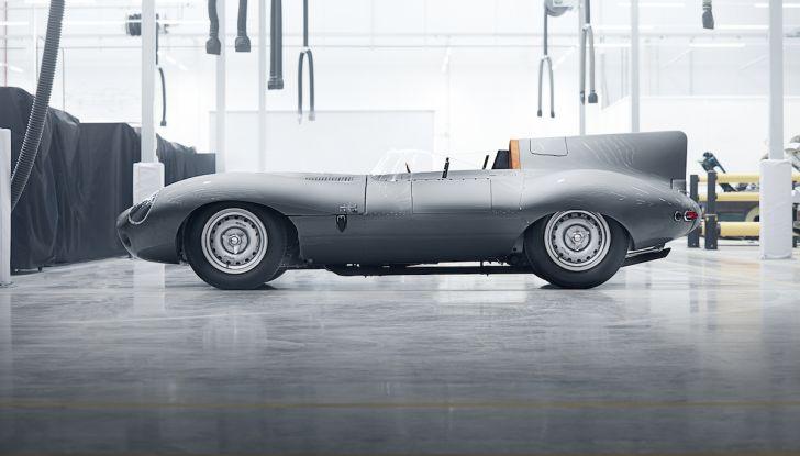 Jaguar D-Type, regina di Le Mans, torna in produzione nel 2018 - Foto 6 di 15